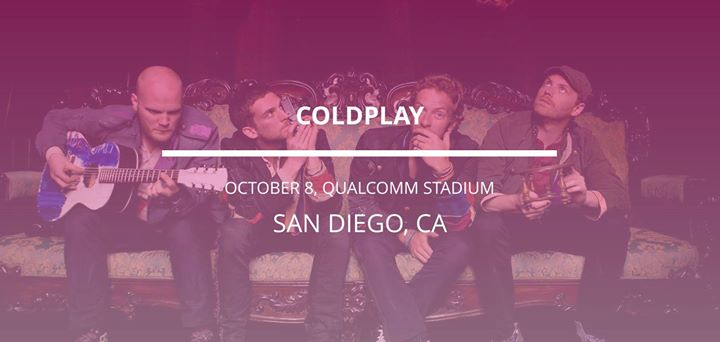 Coldplay in San Diego