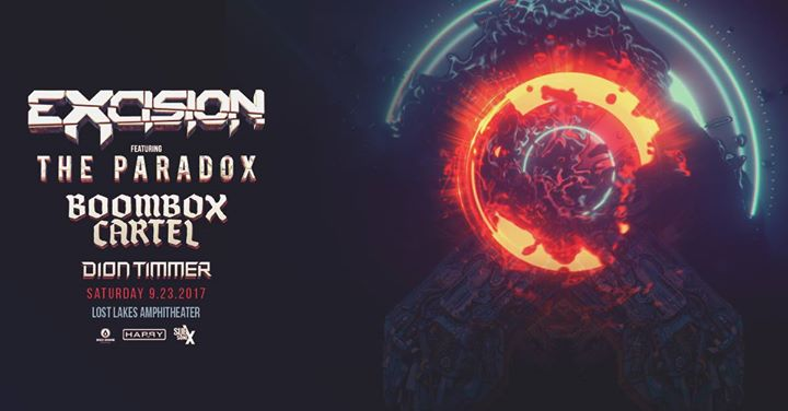Excision featuring The Paradox 9.23.17 (OKC)