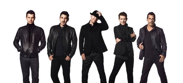 New Kids On The Block - The Total Package Tour