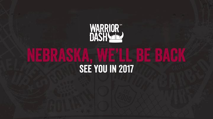 Warrior Dash Nebraska 2017