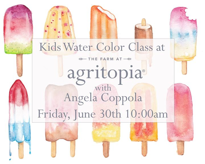 Kids Water Color Class