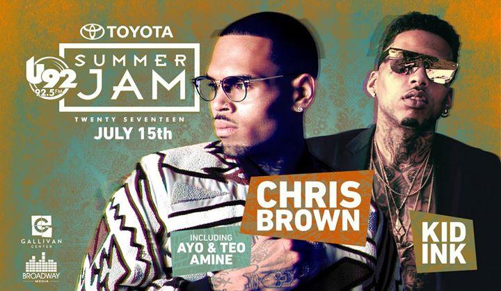 U92 Toyota Summer Jam 2017