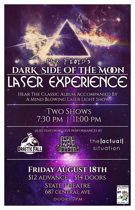 Pink Floyd's 'Dark Side Of The Moon' Laser Experience