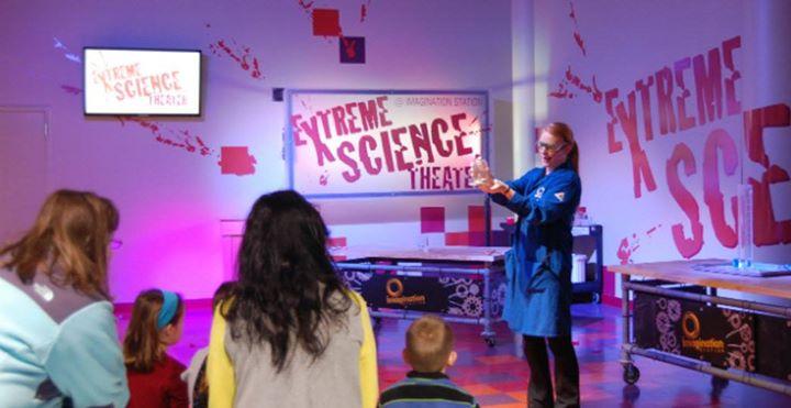 Imagination Station - Extreme Science Demonstration