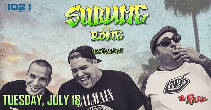 Sublime With Rome at The Rave