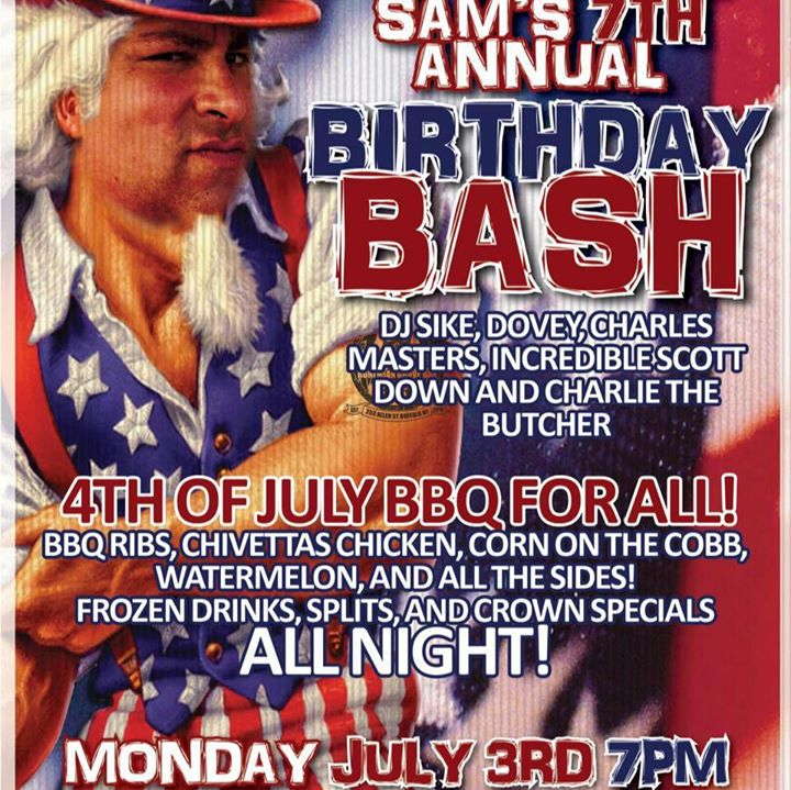 JJ and Uncle Sam's 7th Annual Birthday Bash