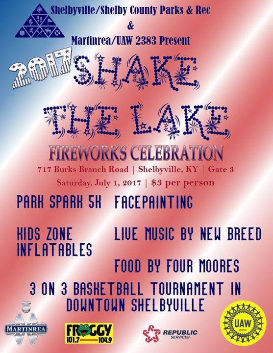 Shake the Lake! 4th of July Celebration
