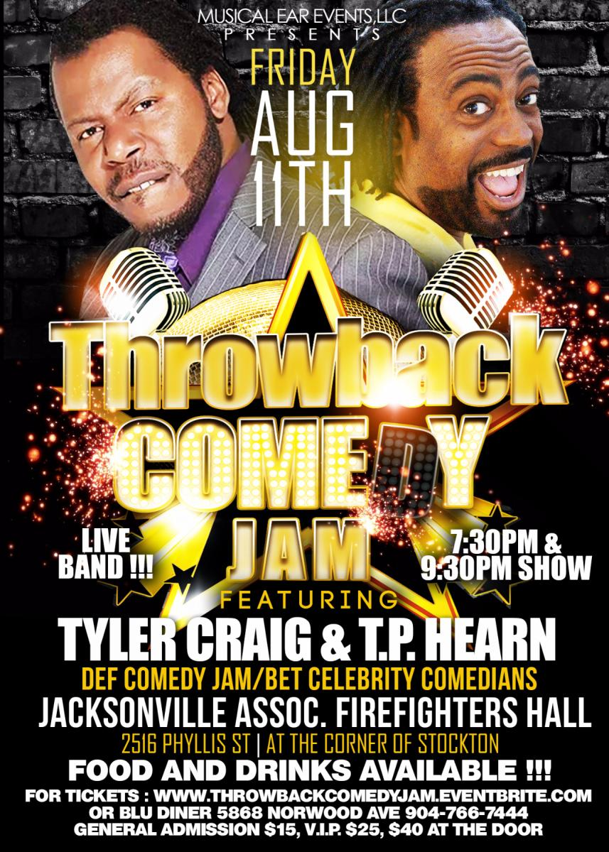 Throwback Comedy Jam