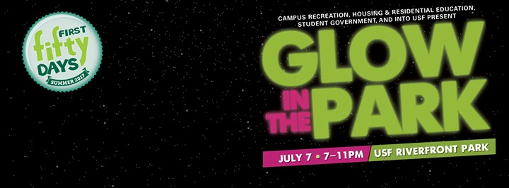 Glow in the Park at USF Riverfront Park
