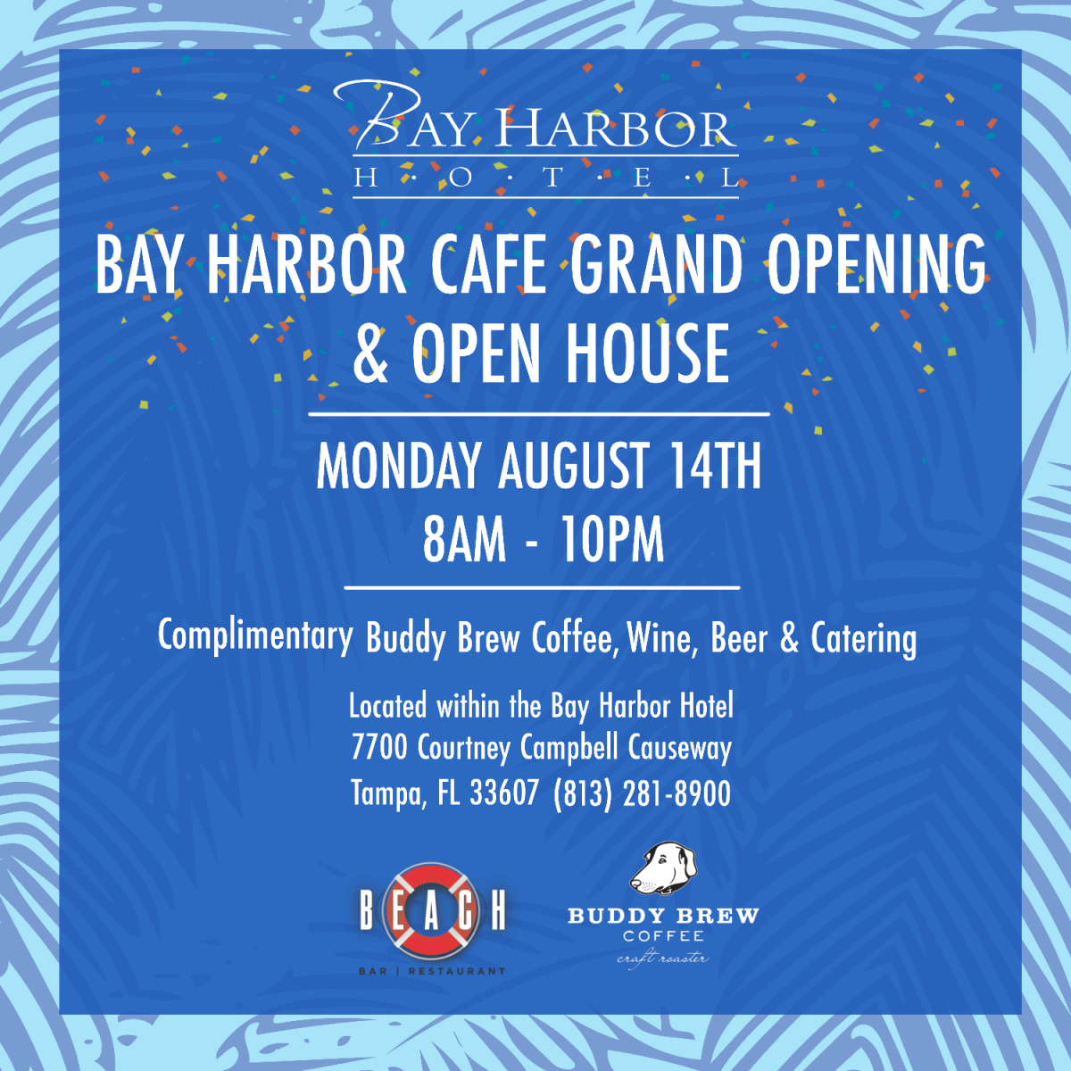 Bay Harbor Cafe Grand Opening & Ribbon Cutting