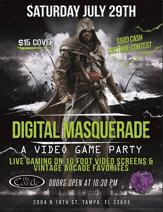 Digital Masquerade at The Castle