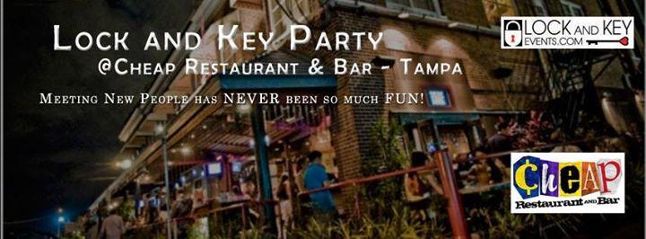 Tampa Lock and Key Singles Party at Cheap