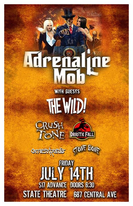 Adrenaline Mob and Guests