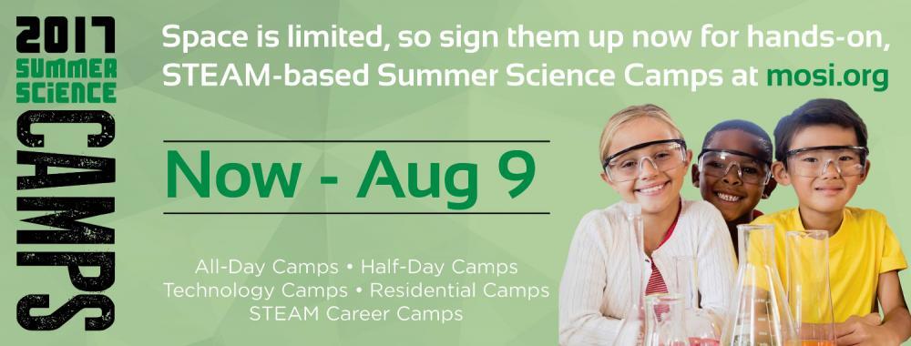 Summer Science Camps at MOSI