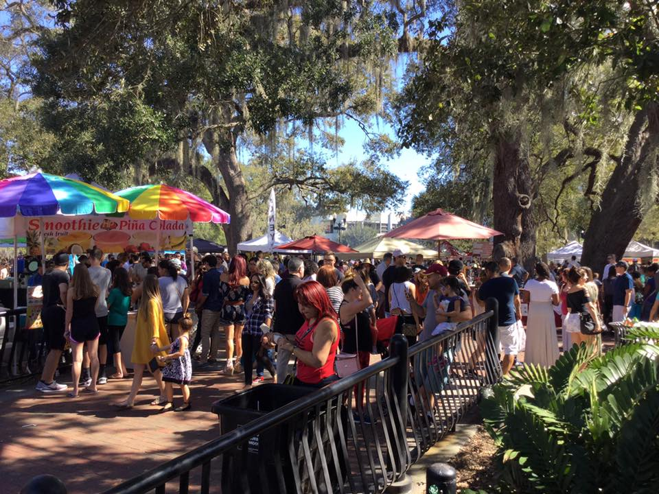 Orlando Farmer's Market | Lake Eola Park