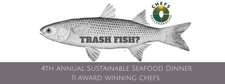 Sustainable Seafood Dinner (AKA Trash Fish)