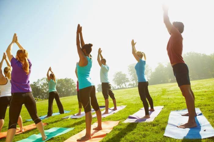 Yoga at Nathan Benderson Park