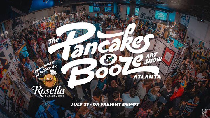 The Atlanta Pancakes & Booze Art Show