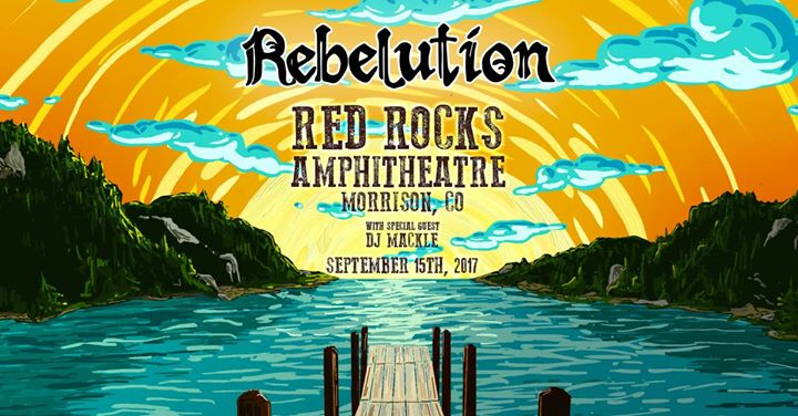 Rebelution live at Red Rocks - Morrison, CO