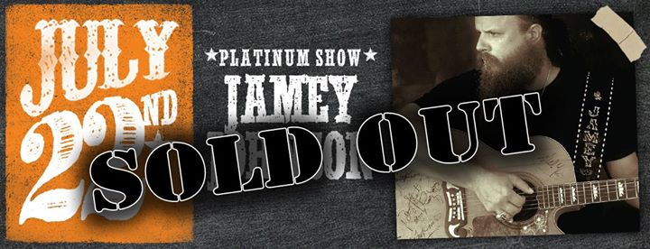 Jamey Johnson- SOLD OUT