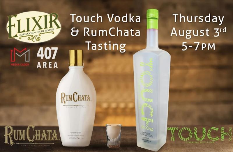 RumChata And Touch Vodka Tasting | Elixir