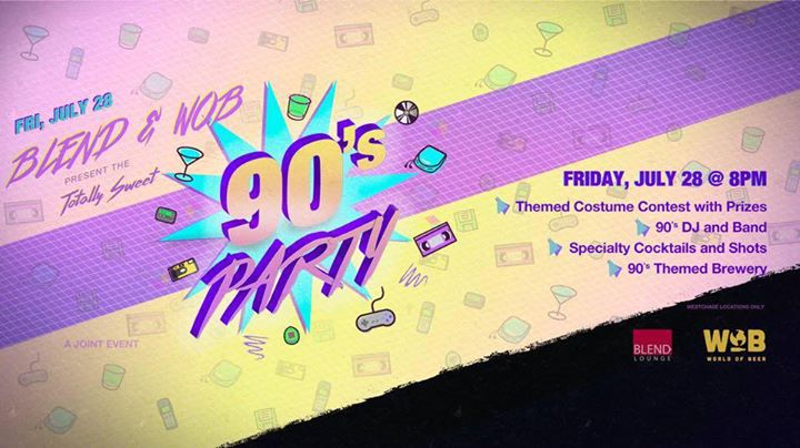 We love the 90s Party