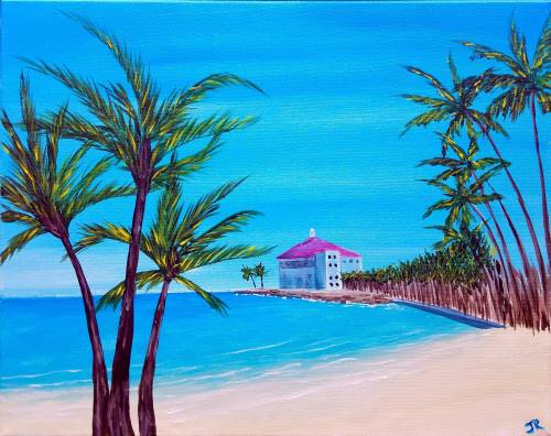Wine & Canvas: Catalina Island