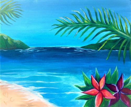 Wine & Canvas: Aloha