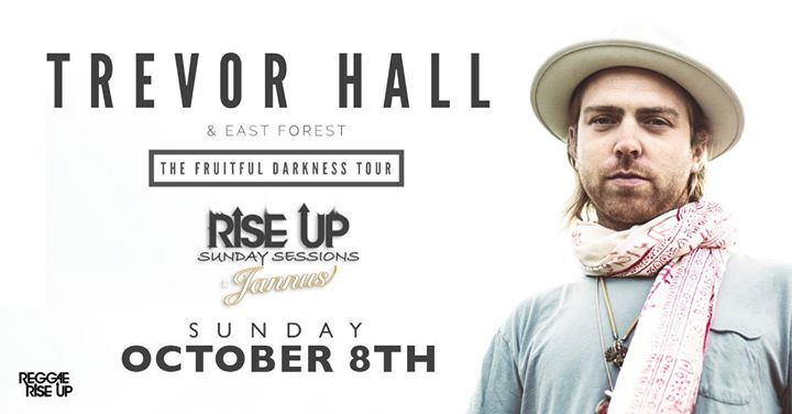 Trevor Hall at Jannus Live: Rise Up Sunday Sessions