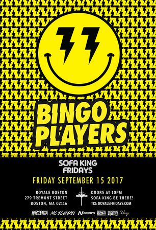 Bingo Players at Royale | 9.15.17 | 10:00 PM | 21+
