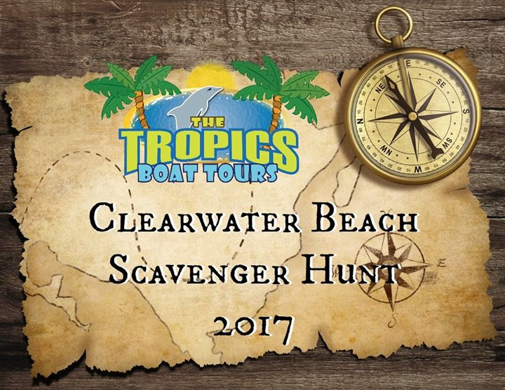 Clearwater Beach Scavenger Hunt 2017