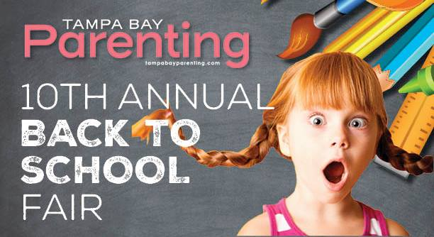Tampa Bay Parenting's 10th Back to School Fair