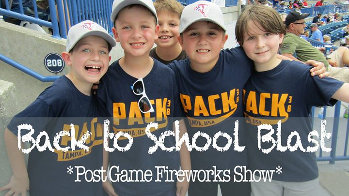 Tampa Yankees vs. ST Lucie Mets Blue's Back to School Party