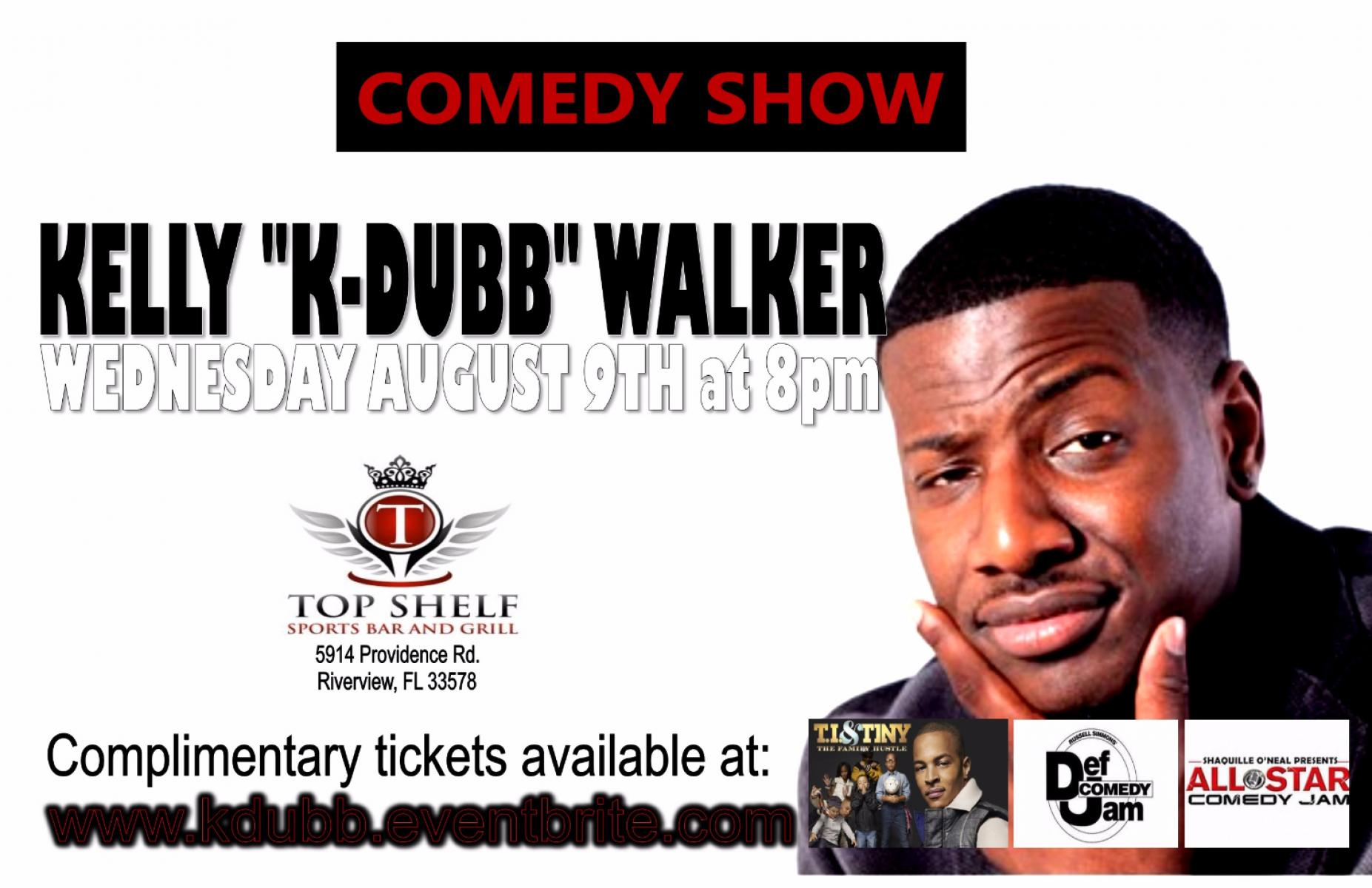 Comedy Show with K DUBB