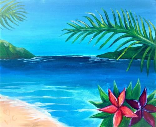 Wine & Canvas: Aloha