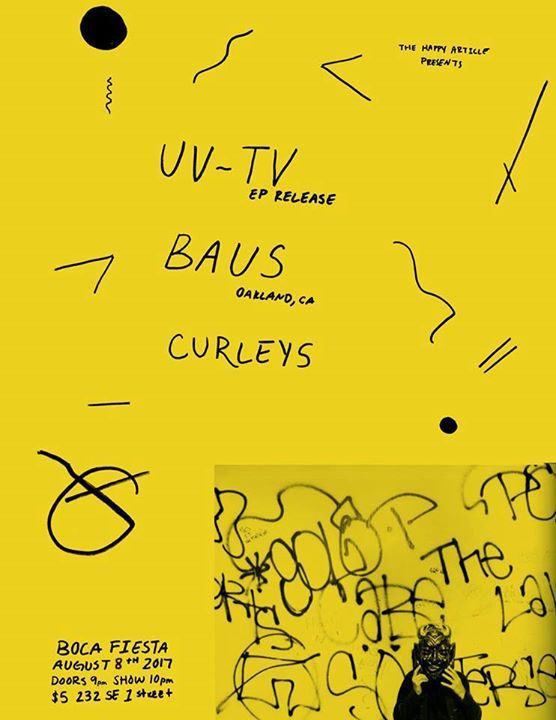 UV-TV EP Release with BAUS (OAKL) and Curleys