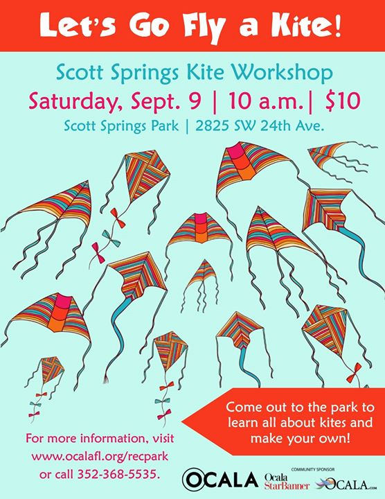 Scott Springs Kite Workshop