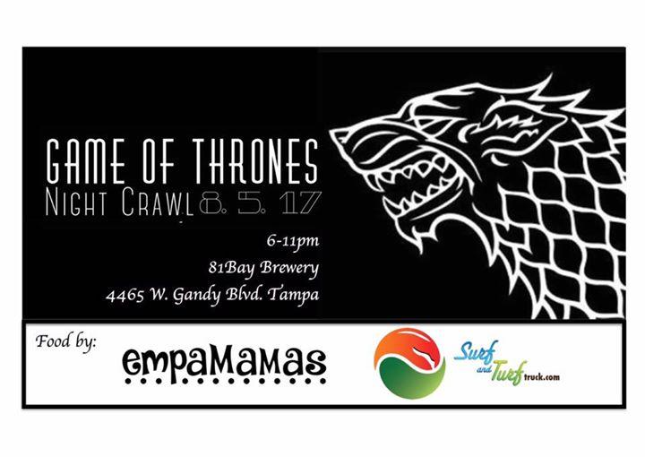 Game of Thrones Night Crawl