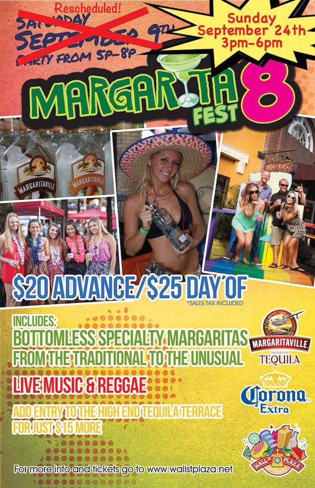 MargaritaFest 8 on Wall Street Plaza- RESCHEDULED