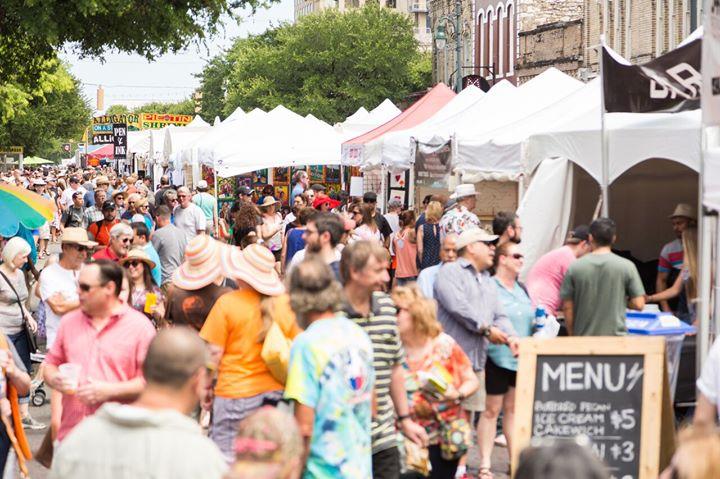 Fall 2017 Pecan Street Festival