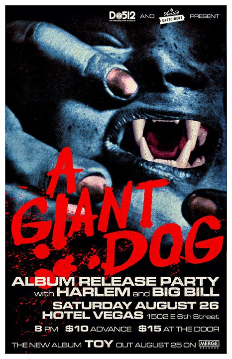 A Giant Dog's Release Party with Harlem and Big Bill