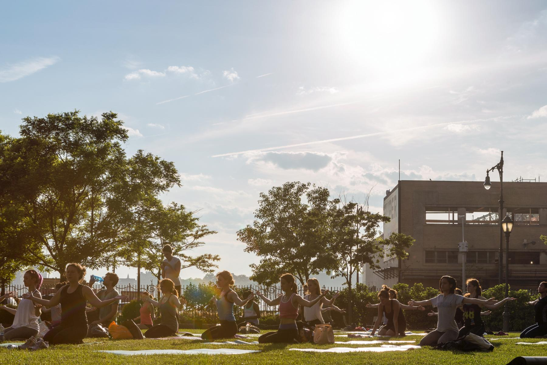 The Meatpacking District's Sweat Sessions Wellness Schedule Tuesday, August 15