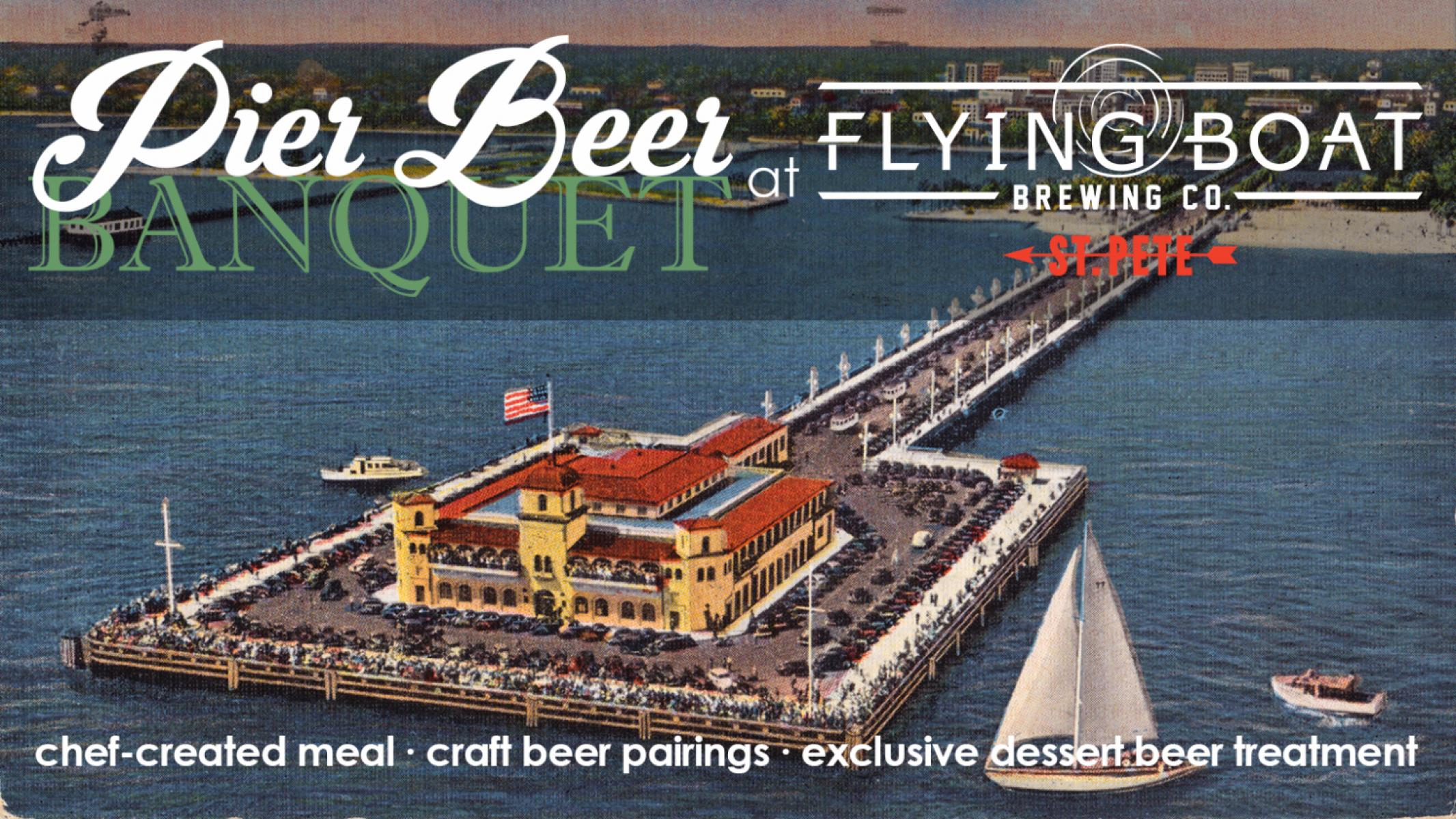 Pier Beer Banquet at Flying Boat Brewing Co.