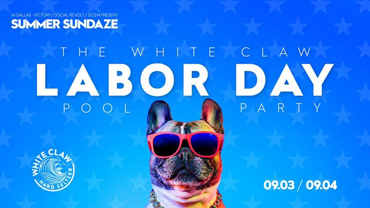 The White Claw Labor Day Pool Party