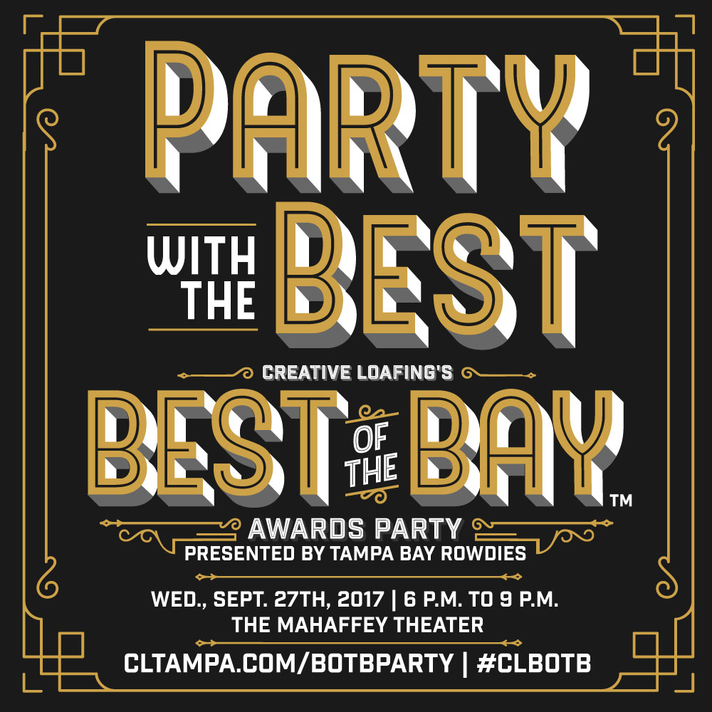 Creative Loafing's Best of the Bay Awards Party