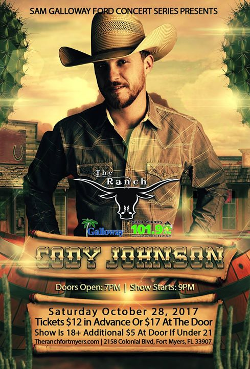 Cody Johnson - Sam Galloway Ford Concert Series
