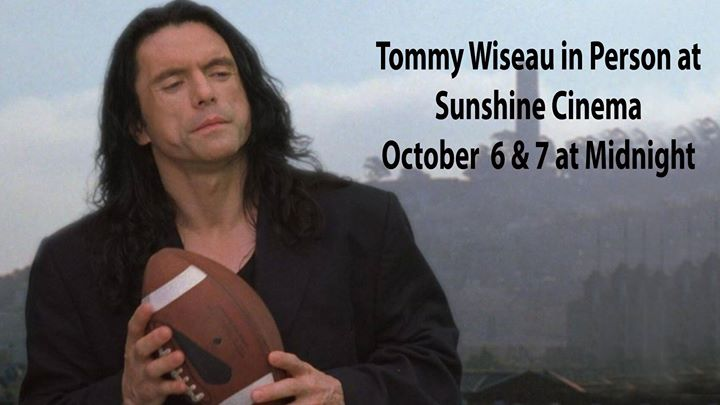 Sunshine at Midnight: The Room with Tommy Wiseau 10/6-7