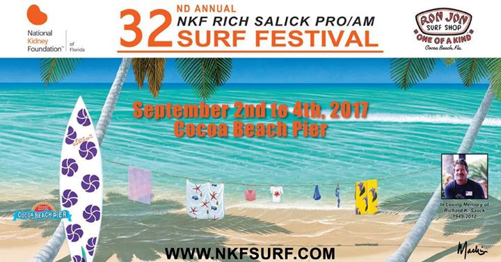 32nd Annual NKF Rich Salick Pro/Am Surf Festival