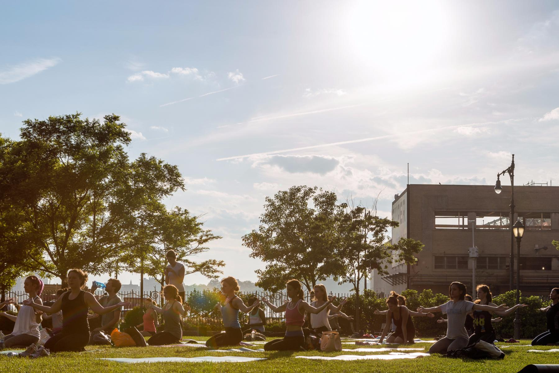 The Meatpacking District's Sweat Sessions Wellness Schedule Tuesday, August 22