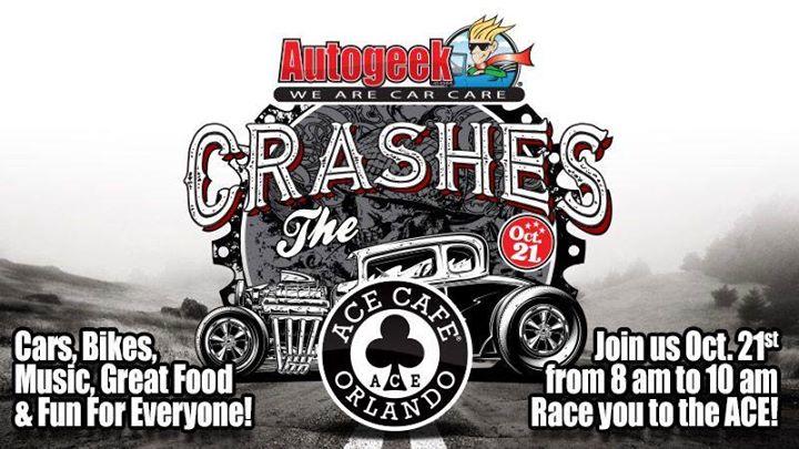 Autogeek Crashes Ace Cafe Orlando!